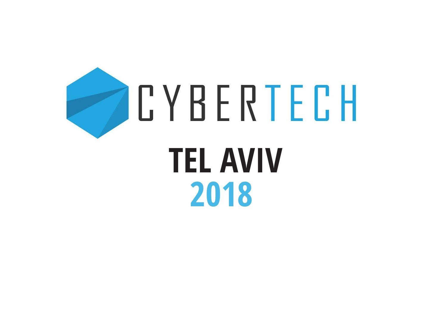Cybertech - 2018 in Tel Aviv
