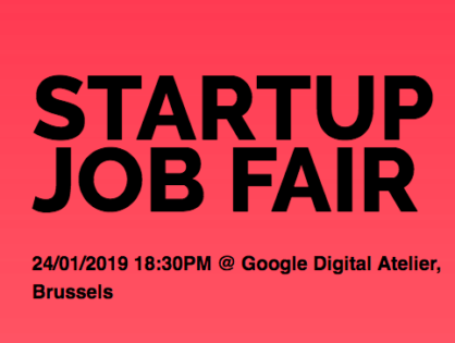 Meet INCOAlliance at Startup Job Fair at Brussels
