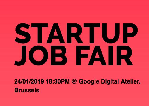 Meet INCOAlliance at Startup Job Fair at Brussels