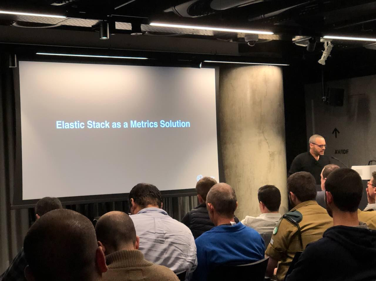 Elasticsearch on Kubernetes – the Google TLV quality meetup
