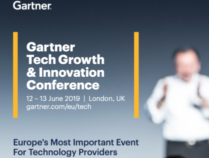 Gartner Tech Growth and Innovation Conference 2019